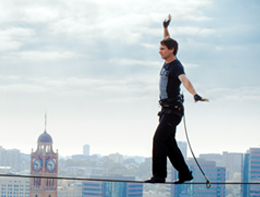 Todd Sampson skywalking